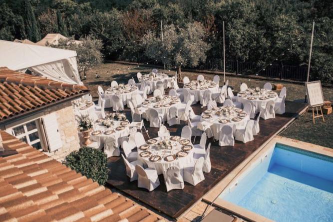 Istra Zvona catering vjenčanje Istra